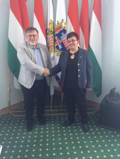 Megbeszélés Dr Dézsi Csaba Andrással Győr polgármesterével